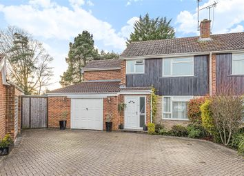 Thumbnail 4 bed semi-detached house for sale in Clifton Road, Wokingham, Berkshire