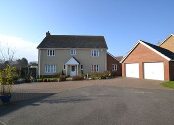 Thumbnail 4 bed detached house for sale in Game Close, Great Cornard, Sudbury