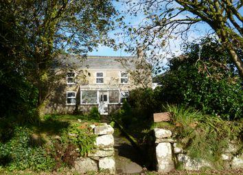 Thumbnail 4 bedroom detached house for sale in Great Bosullow, Newbridge, Penzance