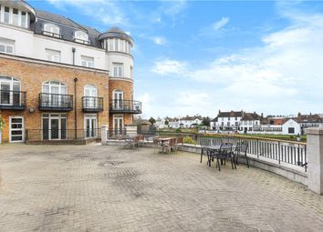 Thumbnail 3 bed flat for sale in Thames Edge Court, Clarence Street, Staines-Upon-Thames