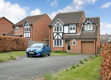 Thumbnail 4 bed detached house for sale in Worcester Road, Grantham