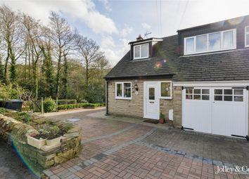 Thumbnail 3 bedroom semi-detached house for sale in 132 Laneside Road, New Mills, High Peak