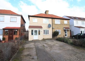 Thumbnail 3 bed semi-detached house for sale in North Hyde Lane, Norwood Green