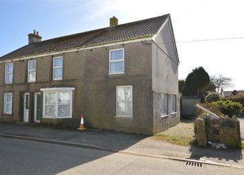 Thumbnail 3 bed semi-detached house for sale in Hayle Road, Leedstown, Hayle, Cornwall