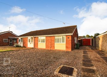 Thumbnail 2 bed semi-detached bungalow for sale in Archer Close, Sprowston, Norwich