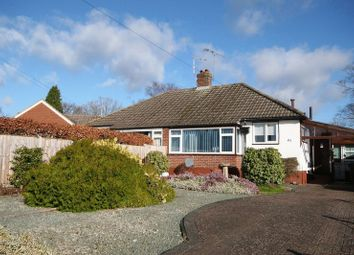 Thumbnail 2 bed semi-detached bungalow for sale in Woodside Road, Farnham