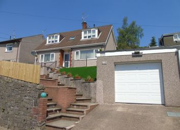 Thumbnail 3 bed detached house for sale in Viaduct Road, Garndiffaith, Pontypool
