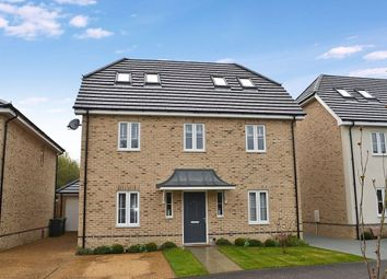 Thumbnail 5 bed detached house for sale in Copper Beech Avenue, Takeley