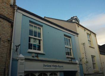 Thumbnail 2 bed flat to rent in Cooper Street, Bideford, Devon