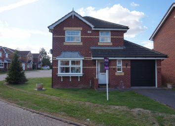 Thumbnail 3 bed detached house for sale in Greenfields Way, Worksop