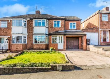Thumbnail 5 bed semi-detached house for sale in Roundhills Road, Hurst Green, Halesowen