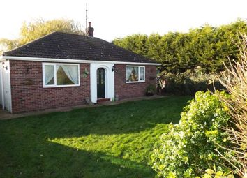 Thumbnail 2 bed bungalow for sale in Wiggenhall St Mary Magdalen, Kings Lynn, Norfolk