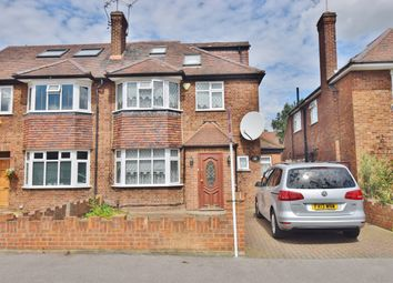 Thumbnail 4 bed semi-detached house for sale in Manor Drive, Hanworth