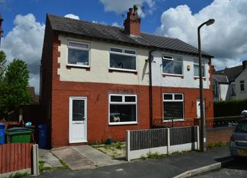 Thumbnail 3 bedroom semi-detached house to rent in Talbot Street, Hazel Grove, Stockport