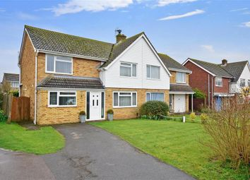 Thumbnail 3 bed semi-detached house for sale in Southmead Close, Folkestone, Kent
