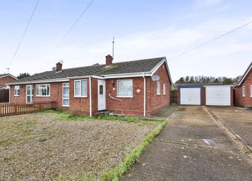 Thumbnail 3 bedroom semi-detached bungalow for sale in Tipton Close, Toftwood, Dereham