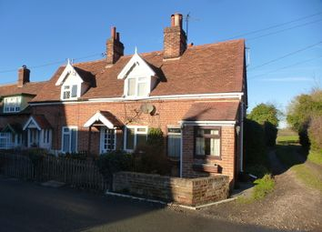 Thumbnail 2 bedroom end terrace house for sale in Church Cottage, Burstall, Ipswich