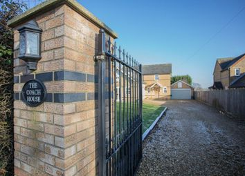 Thumbnail 3 bed detached house for sale in Morborne Road, Folksworth, Peterborough, Cambridgeshire.
