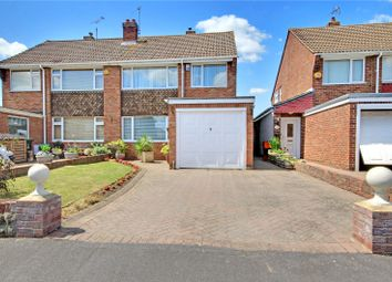 Thumbnail 3 bed semi-detached house for sale in Bourton Avenue, Stratton, Swindon, Wiltshire