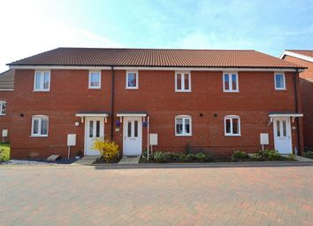 Thumbnail 2 bedroom terraced house for sale in Crocus Close, Eynesbury Manor, St Neots, Cambridgeshire