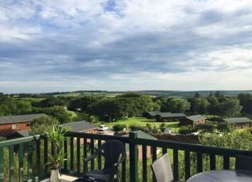 Thumbnail 2 bed lodge for sale in White Cross, Newquay