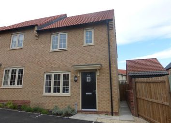 Thumbnail 3 bed semi-detached house to rent in Baker Avenue, Gringley-On-The-Hill, Doncaster