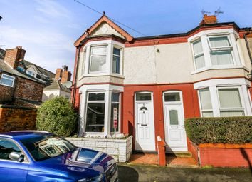 Thumbnail 3 bed end terrace house for sale in Ball Avenue, Wallasey