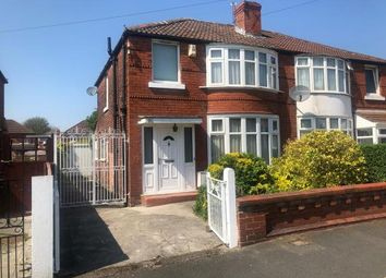 Thumbnail 3 bed semi-detached house for sale in Leighbrook Road, Manchester, Greater Manchester, Uk