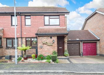 Thumbnail 3 bed semi-detached house for sale in Peal Close, Hoo