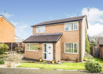 Thumbnail 3 bed detached house for sale in Glentworth Close, Oswestry, Shropshire