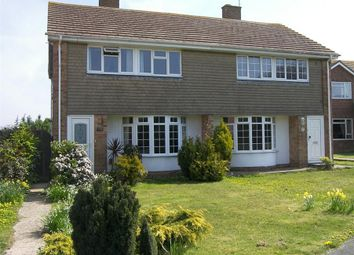 Thumbnail 4 bedroom semi-detached house to rent in The Green Walk, Eastbourne, East Sussex