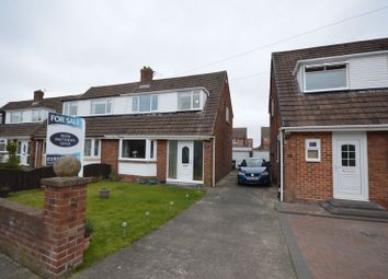 Thumbnail 3 bed semi-detached house for sale in Chiltern Drive, West Moor, Newcastle Upon Tyne