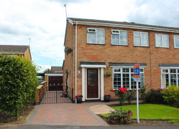 Thumbnail 3 bed semi-detached house for sale in Bluebell Close, Underwood