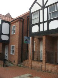 Thumbnail 1 bed town house to rent in Slaughter House Lane, Newark