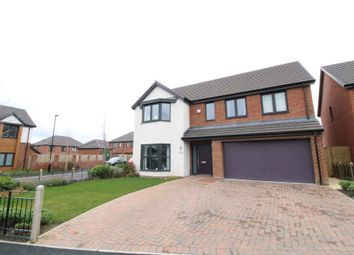 Thumbnail 5 bed detached house for sale in Foxfield Close, Kenton Bank Foot, Newcastle Upon Tyne