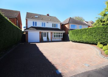 Thumbnail 4 bed detached house for sale in Southfields Road, Shirley, Solihull