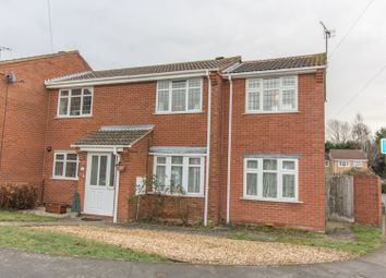 Thumbnail 3 bed semi-detached house for sale in Boundary Road, Lutterworth