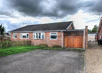 Thumbnail 2 bed semi-detached bungalow for sale in Admirals Walk, Hingham, Norwich