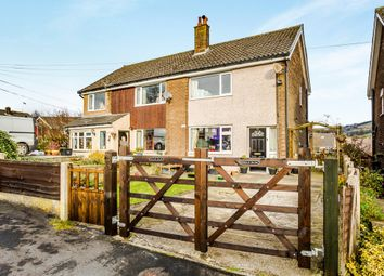 Thumbnail 2 bed semi-detached house for sale in Hillside Avenue, Luddendenfoot, Halifax