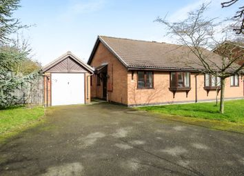 Thumbnail 2 bed semi-detached bungalow for sale in Leysmill Close, Hinckley
