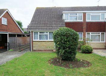 Thumbnail 3 bed semi-detached house for sale in Larksfield, Swindon