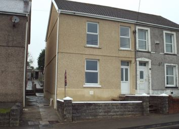 Thumbnail 3 bed semi-detached house to rent in Johns Terrace, Carmel, Llanelli