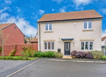 Thumbnail 3 bed detached house for sale in Lime Avenue, Sapcote, Leicester