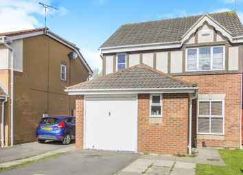 Thumbnail 3 bedroom detached house for sale in Haskell Close, Thorpe Astley, Leicester