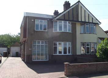 Thumbnail 4 bed semi-detached house to rent in Canterbury Avenue, Sidcup