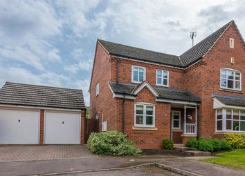 Thumbnail 4 bedroom detached house for sale in Liddington Way, Kingsthorpe, Northampton