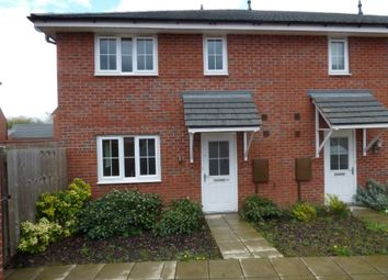 Thumbnail 2 bed end terrace house to rent in Suffolk Way, Church Gresley, Swadlincote