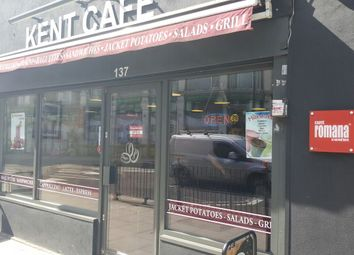 Thumbnail Restaurant/cafe to let in Kentish Town Road, London