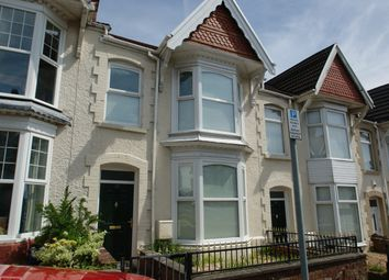 Thumbnail 3 bed terraced house to rent in Ernald Place, Uplands, Swansea