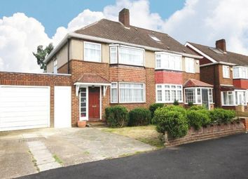 Thumbnail 3 bed semi-detached house for sale in Arnold Crescent, Isleworth, Middlesex